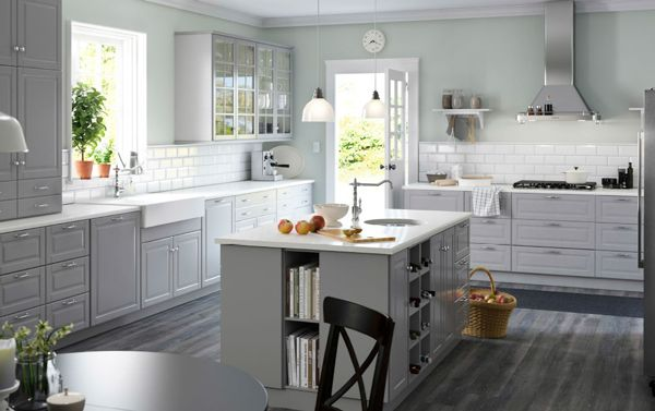 Bodbyn Ikea Keuken Grijs 01 Keuken Ikea Keuken Keuken Ideeen En