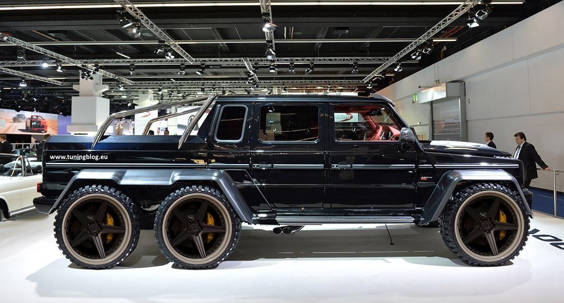 Brabus Mercedes Amg G63 6 Ayarlama