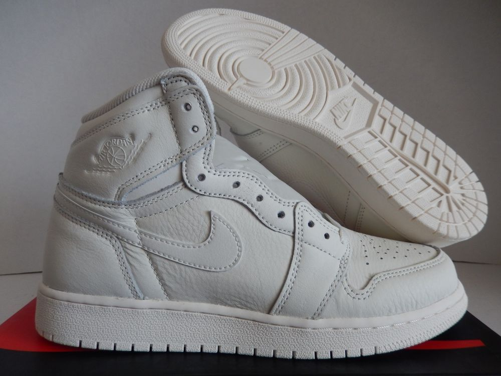 in stock 60e1f 37855 NIKE AIR JORDAN 1 RETRO HIGH OG BG SAIL-RED SZ 6.5Y-WOMENS SZ 8   575441-114   fashion  clothing  shoes  accessories  kidsclothingshoesaccs   unisexshoes ...