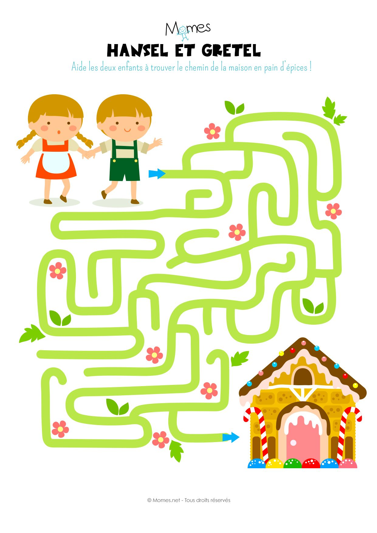 Le Labyrinthe D Hansel Et Gretel