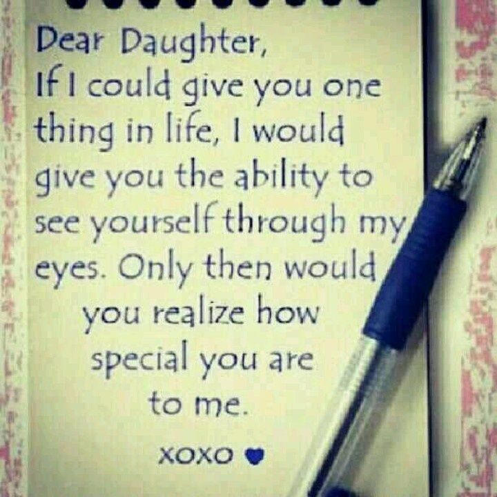 A Mothers Touch My Style Daughter Quotes Dear Daughter Daughter