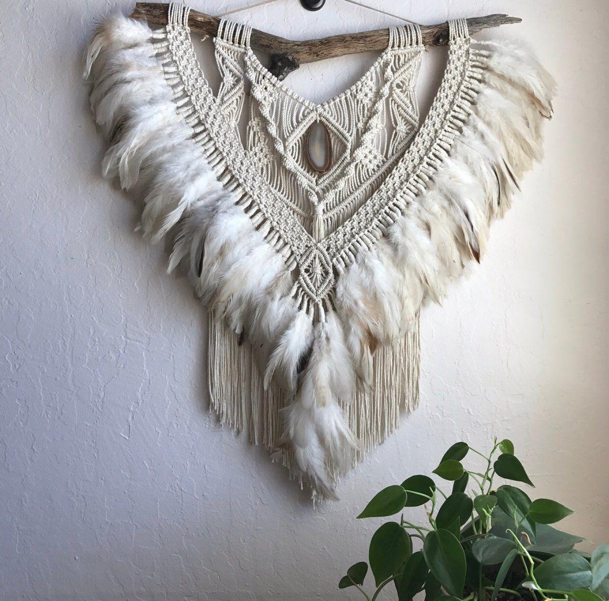 with nature macrame wall hanging art bohemian boho home on macrame wall hanging id=64722