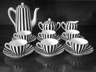 These teapots are the perfect fit for the Mad Hatter tea party.