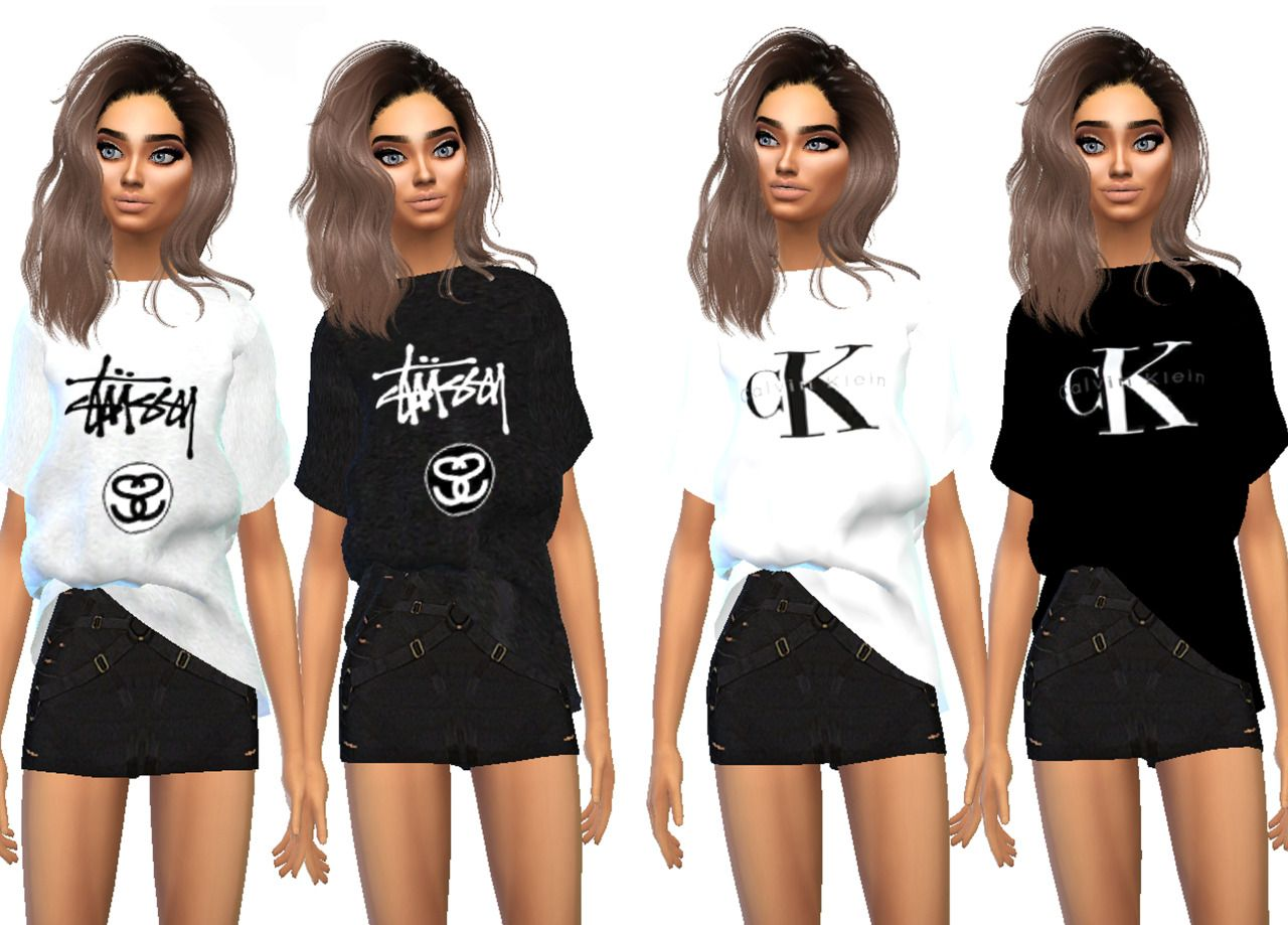 The New Female T Shirt Streetwear Brand Recolour Collection 1 Is
