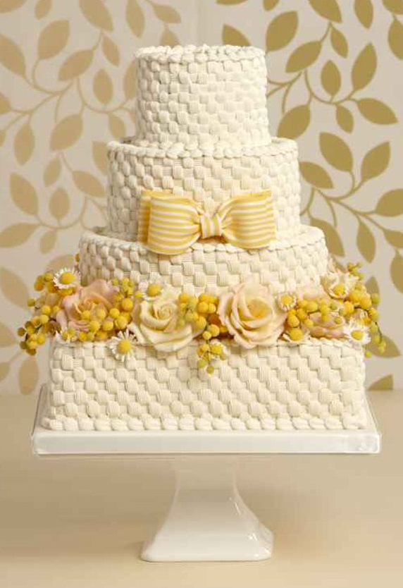 Beautiful Cake Pictures Browse Babble Bake Buttercream Wedding Cake Square Wedding Cakes Fancy Wedding Cakes