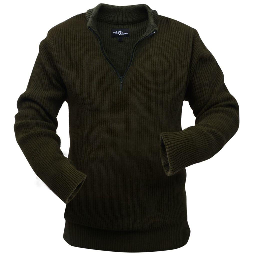 Miesten työpusero Armeijanvihreä koko M , Viimeistele työasusi tällä lämpimällä ja mukavalla puserolla. Tämä paita sopii käytännöllisellä suunnittelullaan sekä vetoketjullisella kauluksellaan käytettäväksi missä tahansa ulkotyössä.  53,45€> 12% Alennus  https://www.fyndpris.fi/8131356-fyndpris-miesten-tyopusero-armeijanvihrea-koko-m.html