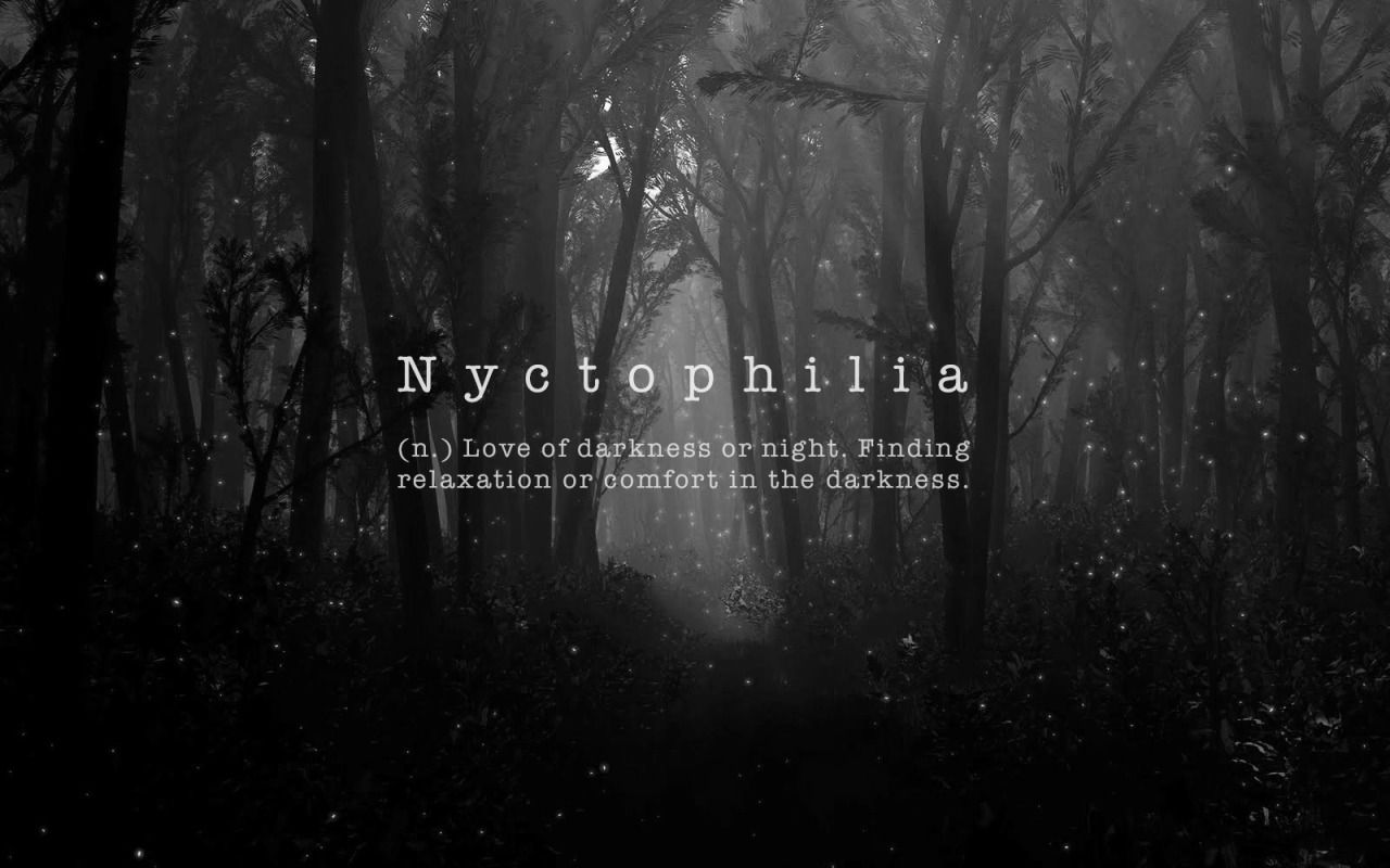 Una Alma Herida Nyctophilia Love Of Darkness Or Night Finding