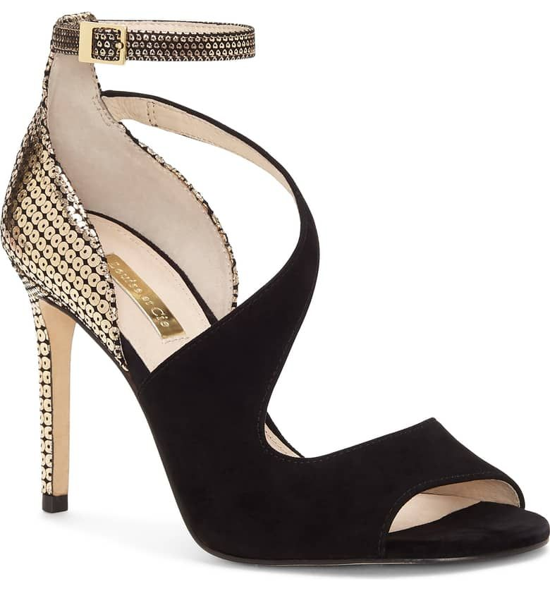 4c48982c91c Kalimac Sandal, Main, color, BLACK/ STARLIGHT SUEDE $129 | Jewelry ...