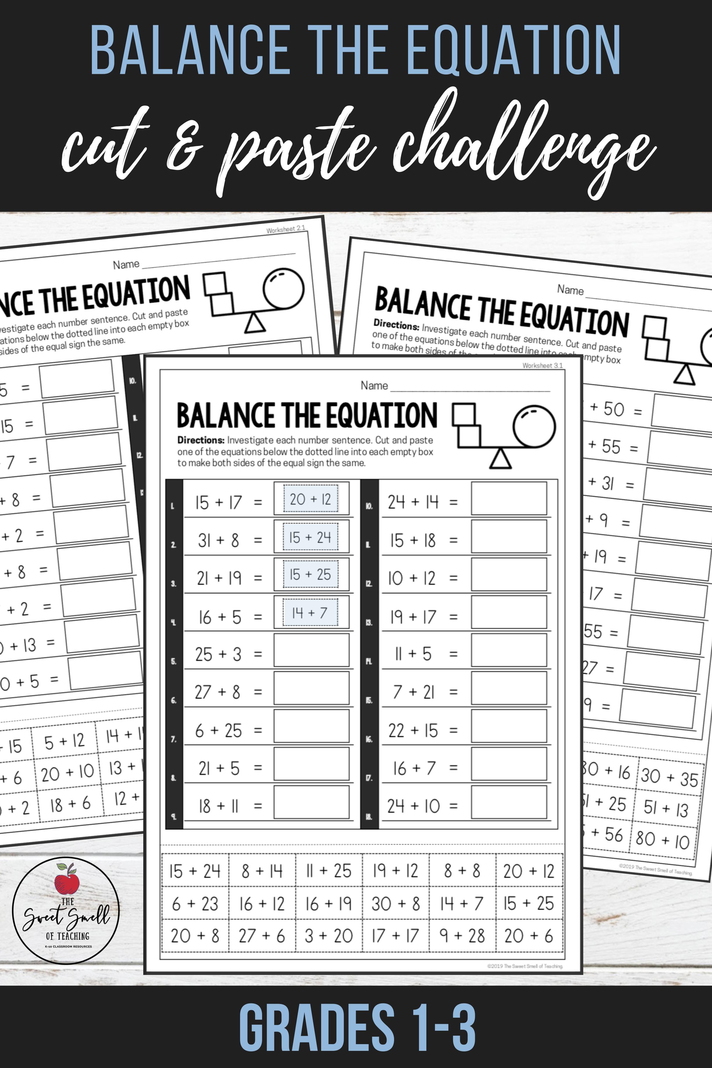 Balance The Equation Challenge