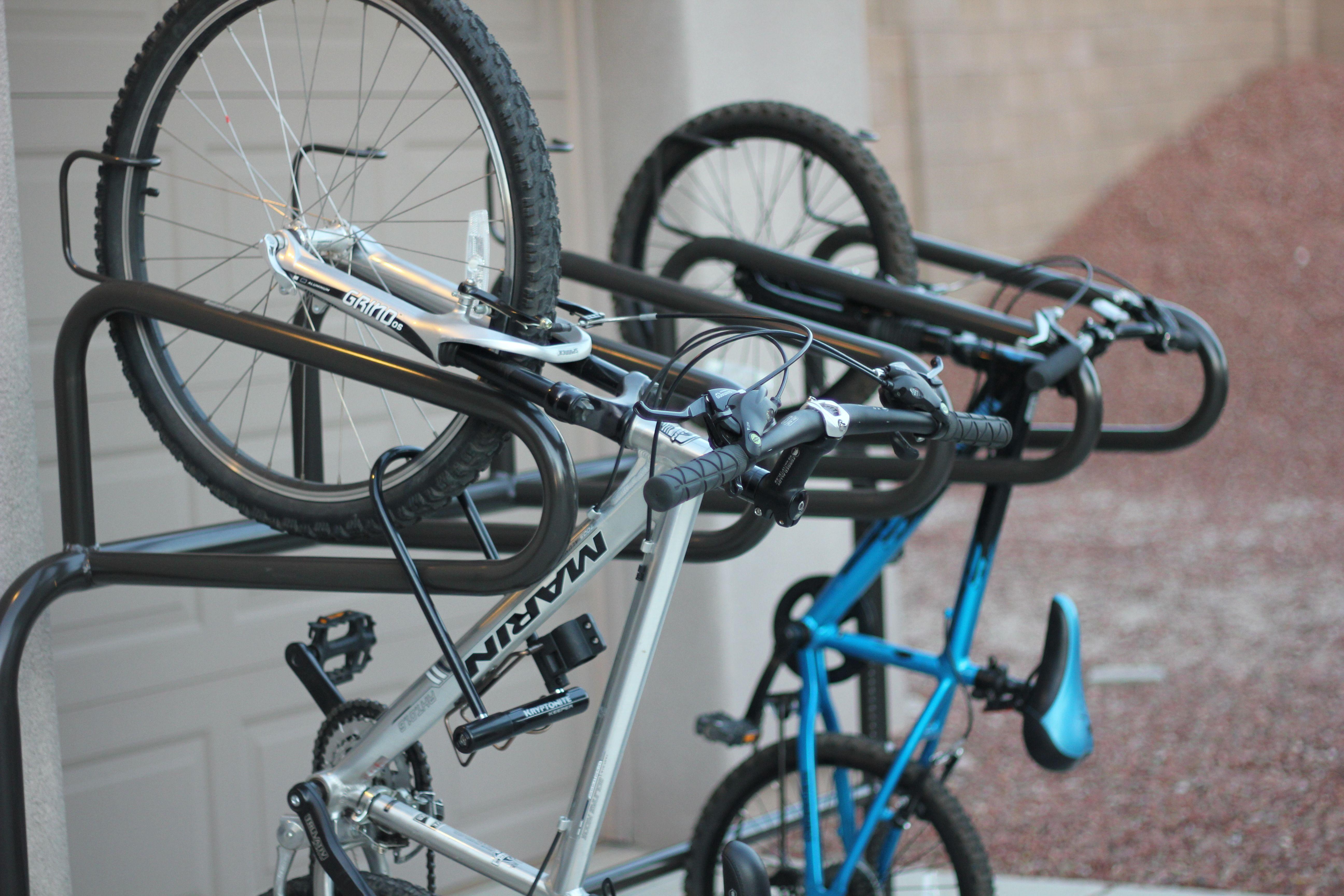 Vertical Flow Bike Rack Commercial Bike Racks Bike Security