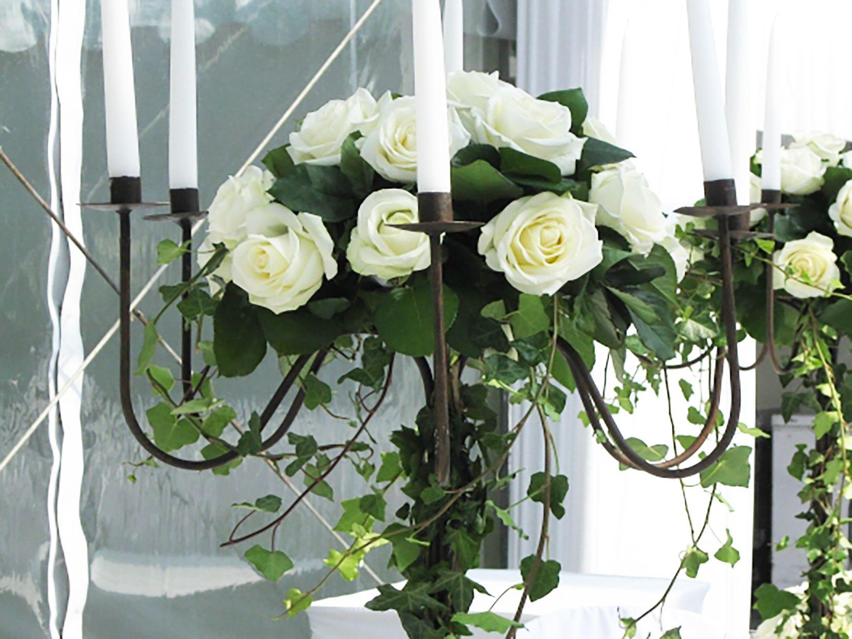 Supérieur Composition Florale Pour Mariage #14: Une Décoration Florale Pour Un Mariage à La Maison
