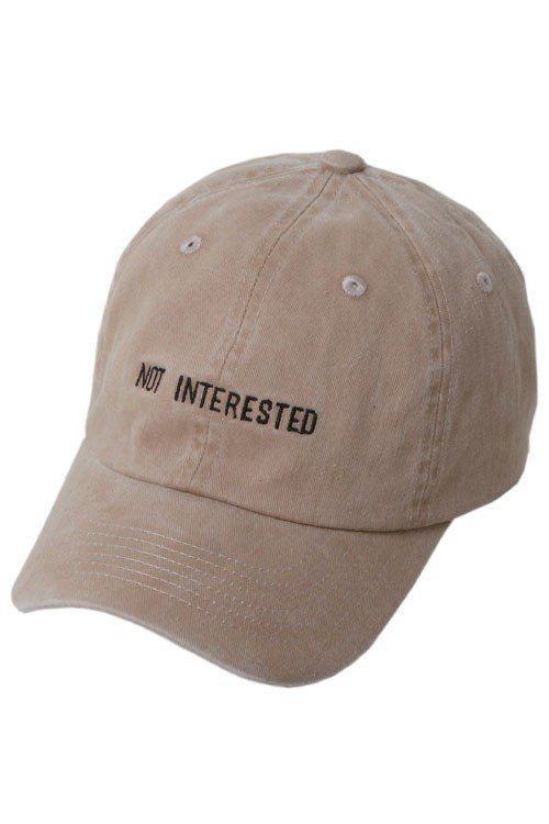 a8de0edb Not Interested Khaki Hat | Caps Caps And More Caps | Hats, Caps hats ...