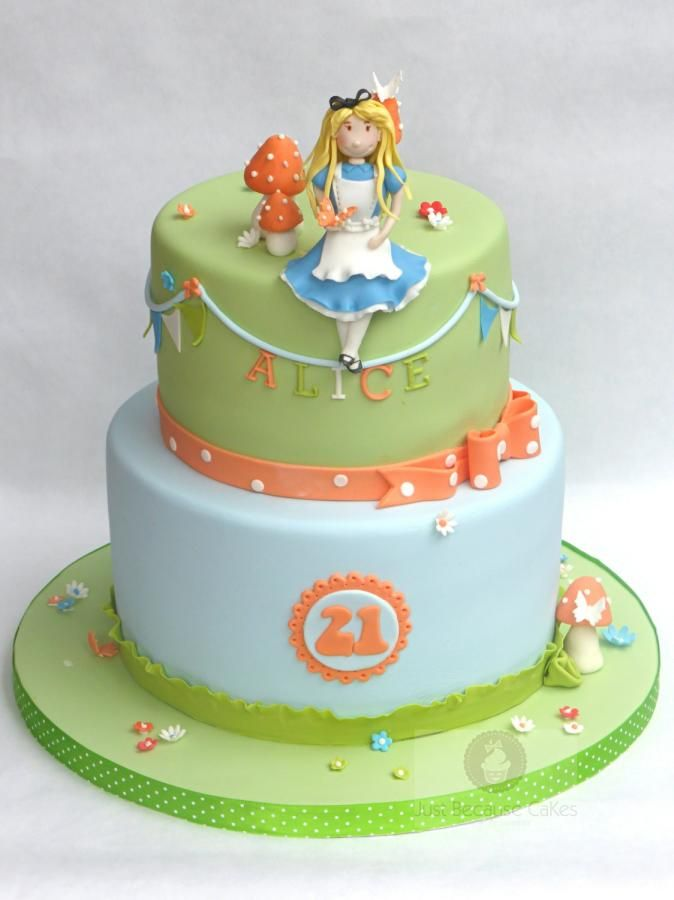 This was a cake for a lovely young lady called Alice for her 21st