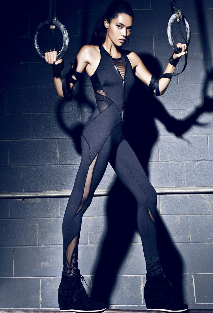 MICHI — Medusa Jumpsuit (Black) | $395