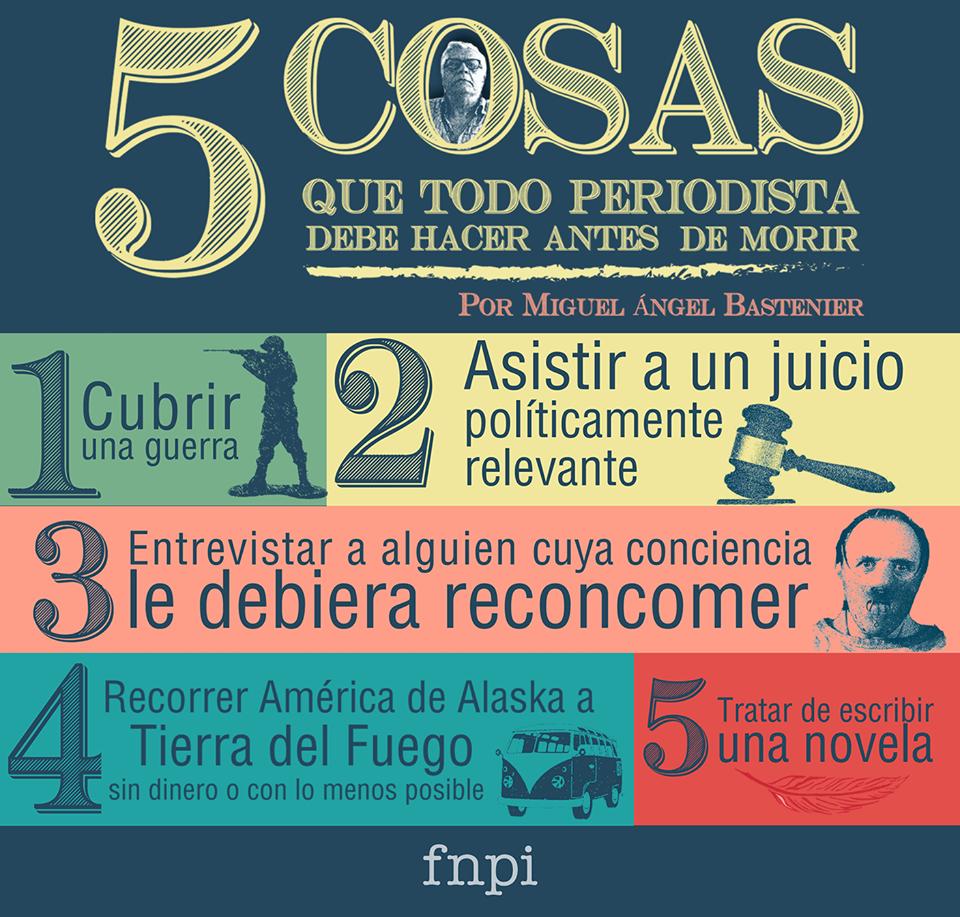 5 cosas que un periodista debería hacer antes de morir | Periodismo ...