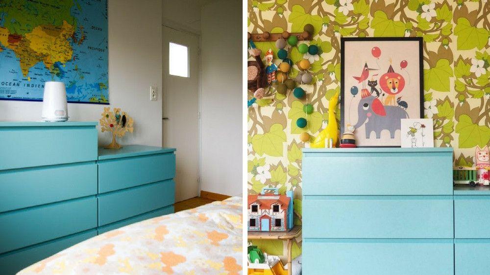 diy comment repeindre un meuble ikea maison. Black Bedroom Furniture Sets. Home Design Ideas