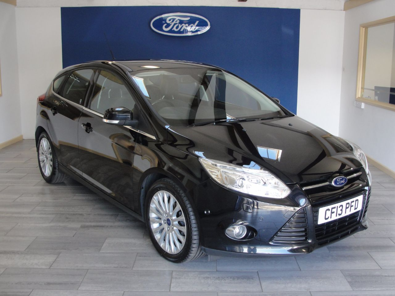 Ford Focus 1 6 Tdci 115 Titanium X 5dr Hatchback Diesel Black Ford Focus Ford Focus 1 Used Ford