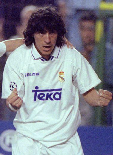 Ivan Zamorano. Real Madrid | Real madrid football, Real madrid team, Real madrid history