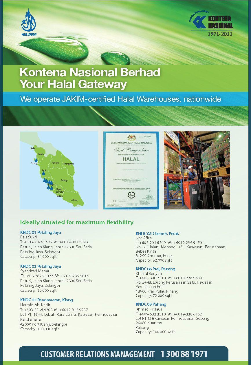 Circular Design For Kontena Nasional Berhad 2010 Design Portfolio Map Screenshot