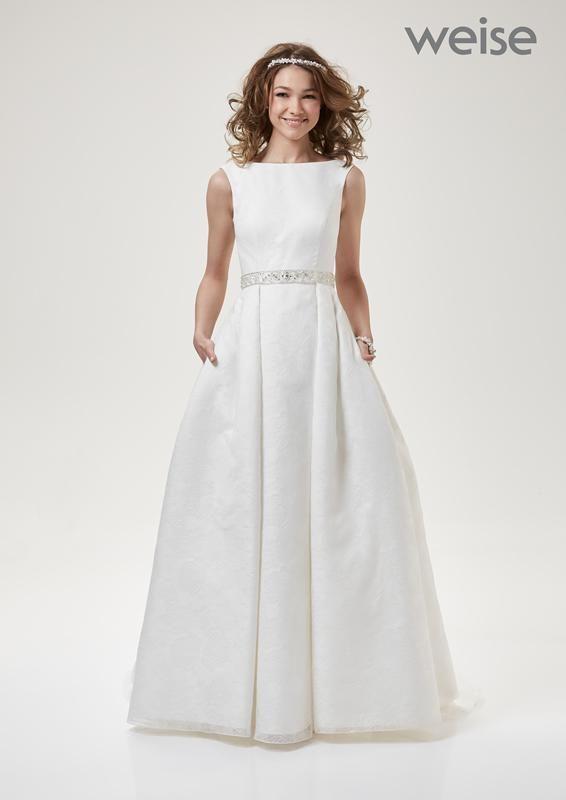 elegantes Audrey-Hepburn-Kleid Ausbrennerstoff | Hochzeitskleider ...