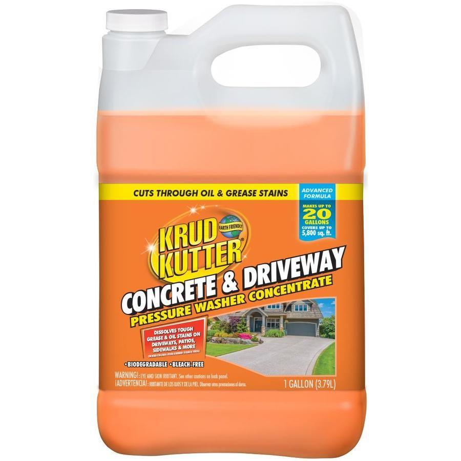 Krud Kutter 1 Gallon Driveway Pressure Washer Cleaner Washer