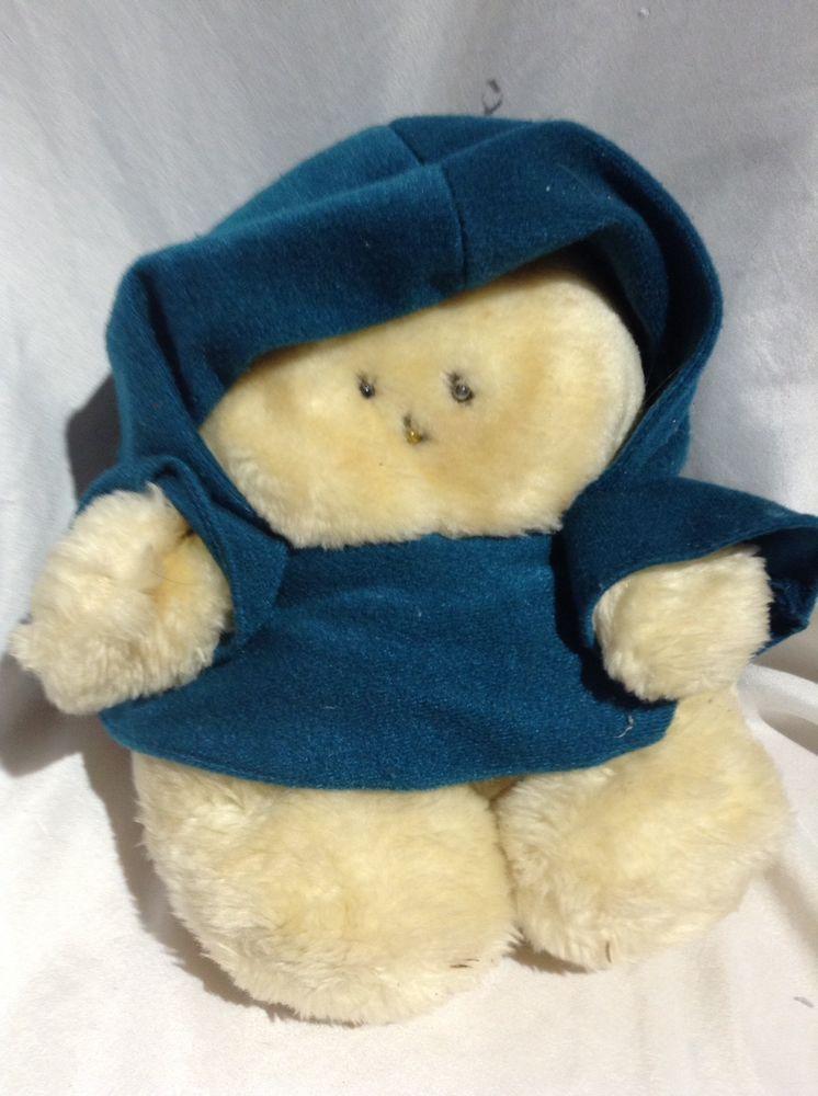 Vintage 80s Chubbles Plush Doll Blue Robe Cloak Sound Lights Animal Fair Stuffed Animalfair Pets For Sale Animals Little Bears