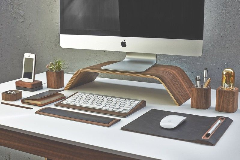 Walnut Lamp Walnut Desks Design Desk Set