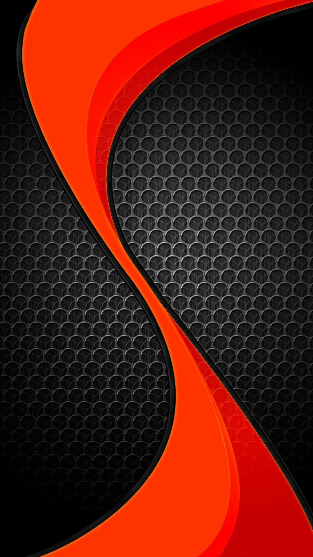 Black and RedOrange Abstract Wallpaper Abstract