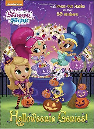 Halloweenie Genies Shimmer And Shine Color Plus Cardstock And