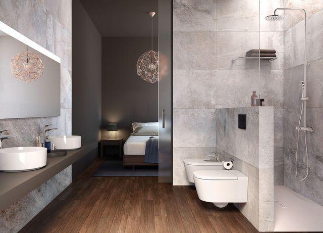 Salle de bain moderne : shopping bien-être | Cuvette suspendue ...