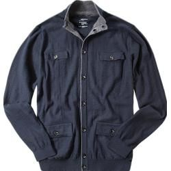 Photo of Gas cardigan men, cotton, blue gas