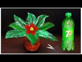 বোতল দিয়ে নাইস আইডিয়া    Crafts With Plastic Bottle    kuti Bari - YouTube