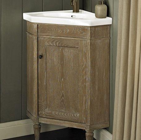 Fairmont Designs Rustic Chic Corner Vanity