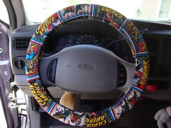 Steering Wheel Cover Marvel Comics Avengers By Julieshobbyhut 1200