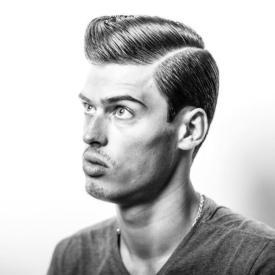 Mens comb over haircut comb over haircuts  looking greased shined etc  pinterest