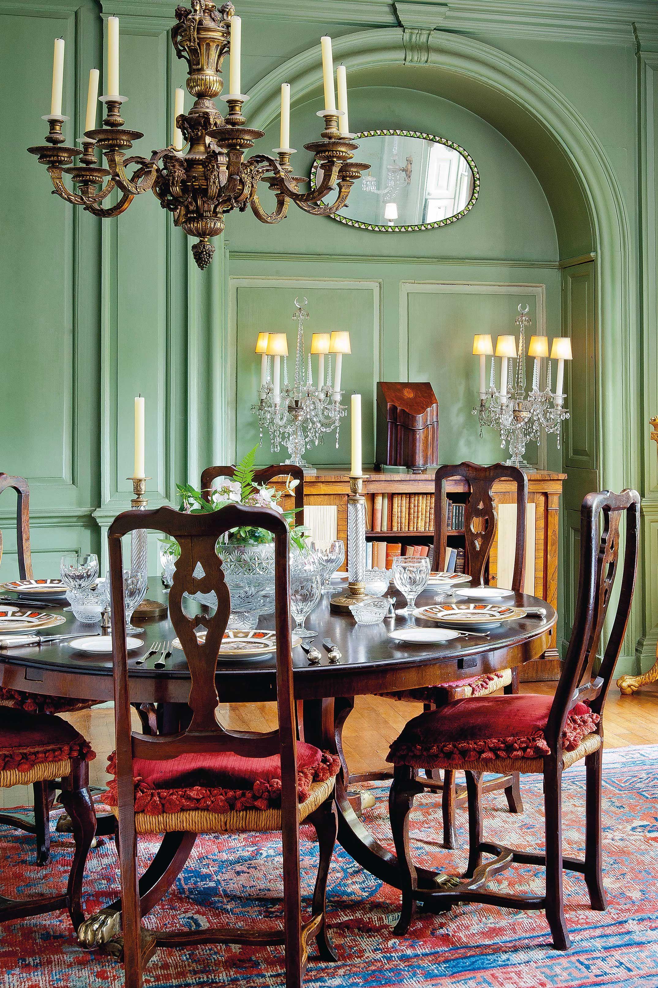 Helles Grün Im Manor House #wandfarbe #streichen Www.meinewand.de