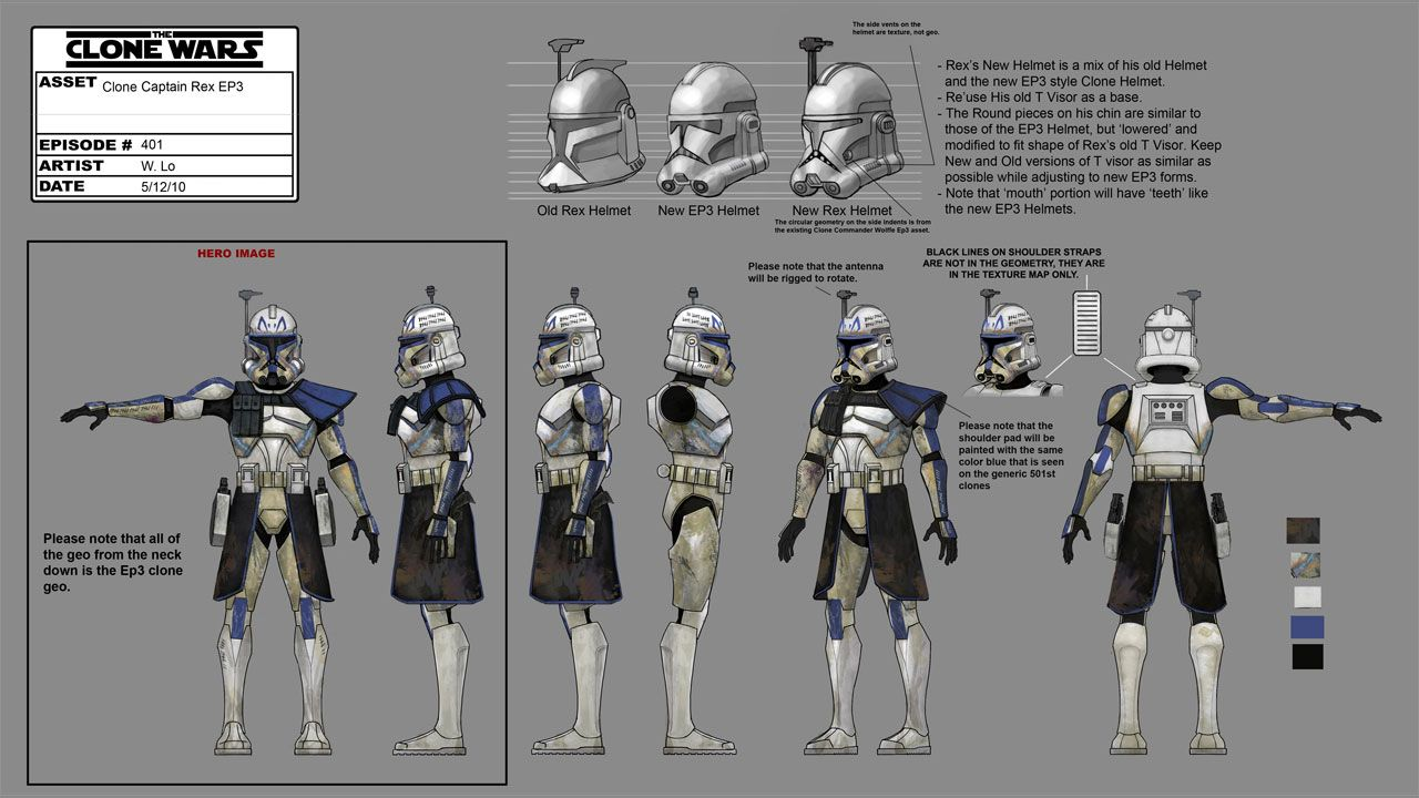 Character Design Evolution : Star wars clone character design pixshark