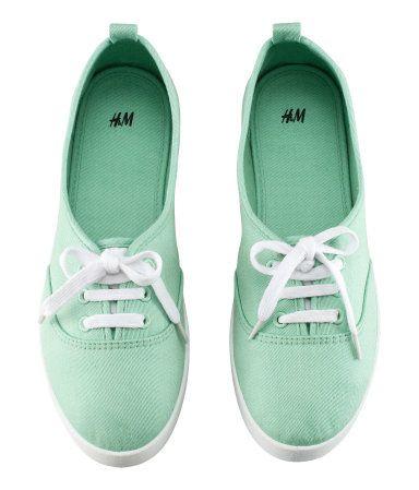 Mint Green Sneakers