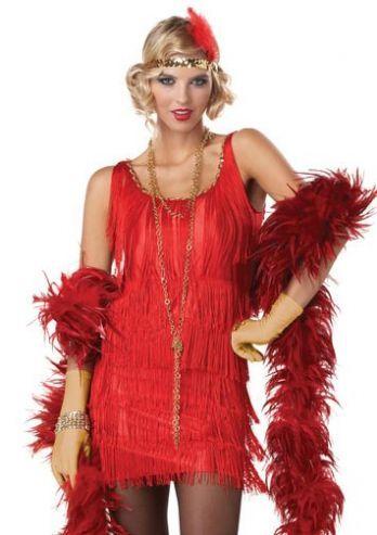 b7807d5e2d37a6 Een jaren  20 flapper jurkje is dit kostuum de Fashion Flapper. Het is een