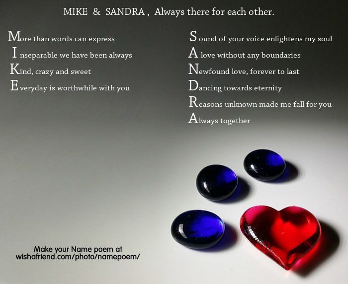Acrostic Name Poem For Couple Acrostic Simple Poems You Are My Forever