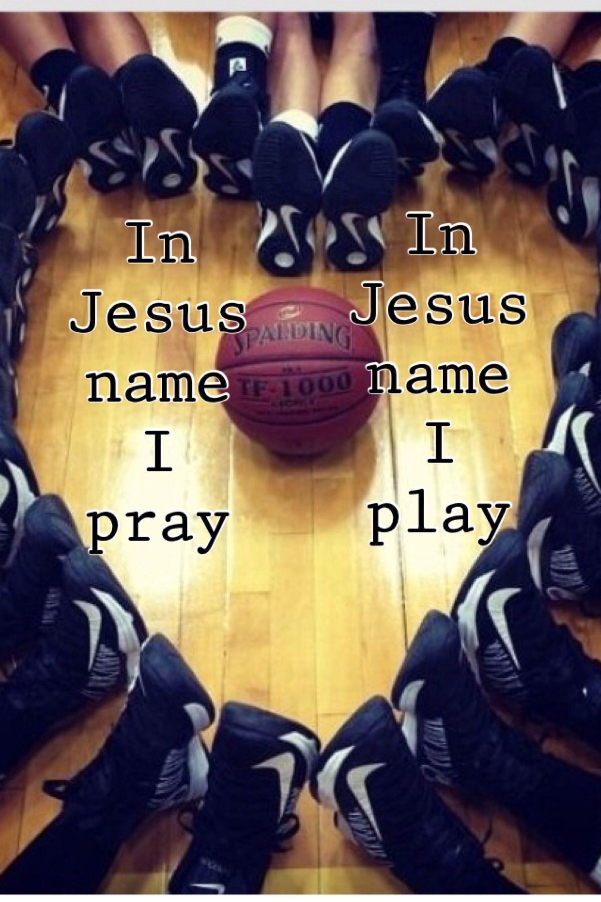 In Jesus name I pray~in Jesus name I play More