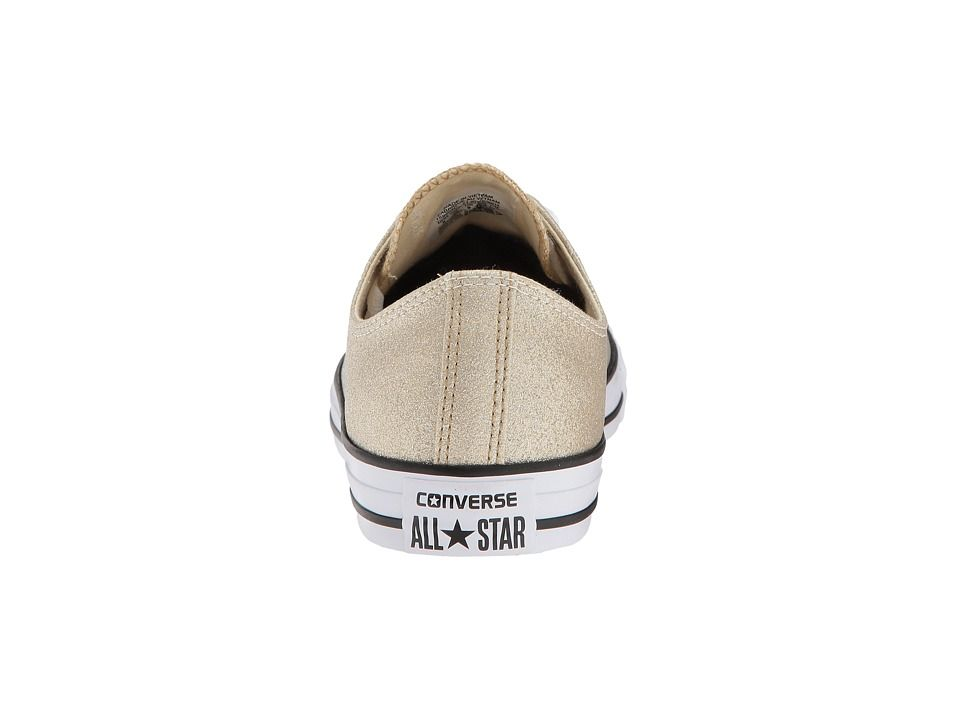 290d1c139e93 Converse Chuck Taylor(r) All Star Canvas Ombre Metallics Ox Classic Shoes  Light Gold Aged Gold White
