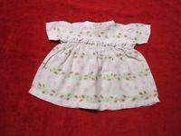 Schöne alte Puppenkleidung -  Reizendes Kleid aus Baumwolle/