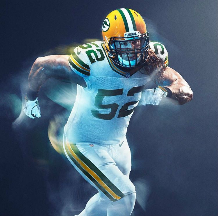09ba63d32e0 Were Packers' Color Rush Uniforms Changed Because of Fans? -- The Green Bay  Packers Color Rush uniforms are all white. It initially appeared they would  be ...