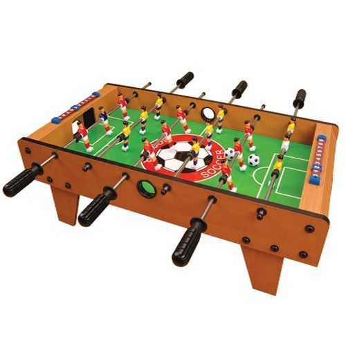 Amazing KIDS Wooden Foosball Football Game Table 2035 SOCCER