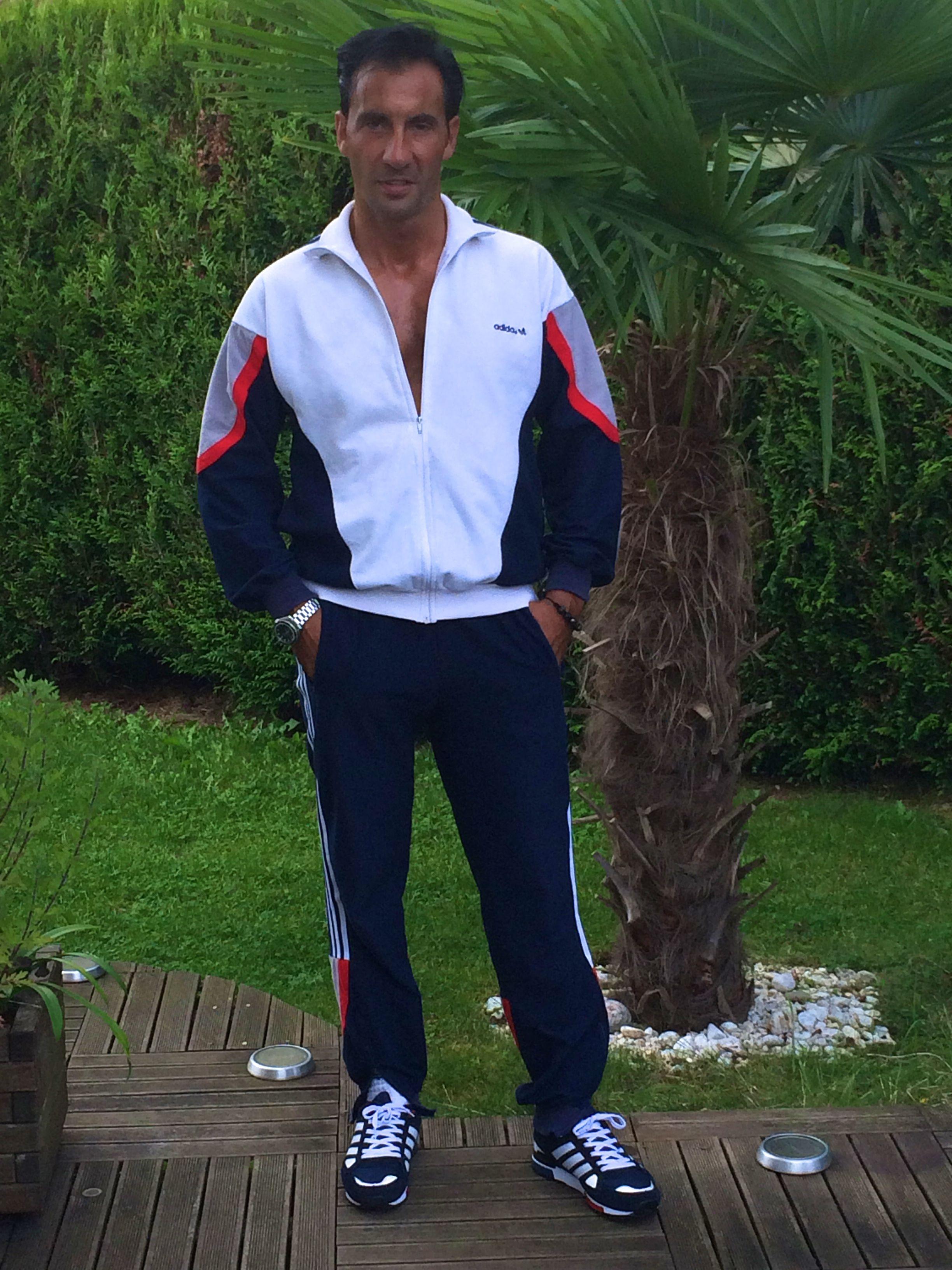 Adidas LASER, vintage ! Survetement, Survêtement adidas Survetement, Survêtement adidas
