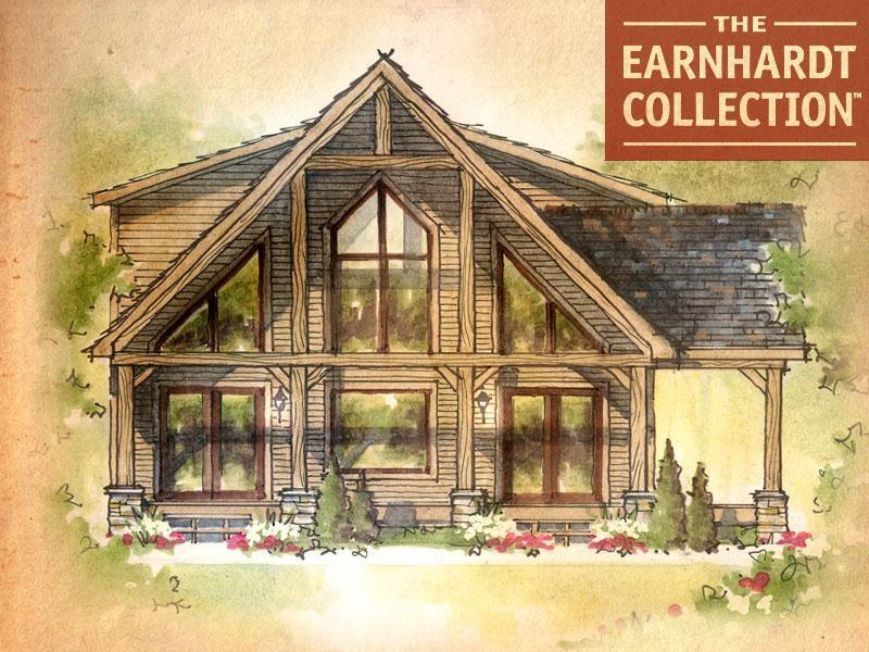 Pocono Home Plan Earnhardt Collection Schumacher Homes