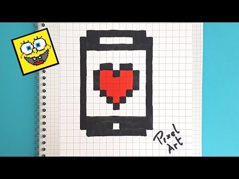 Handmade Pixel Art How To Draw Kawaii Strawberry Pixelart Youtube Avec Images Pixel Art Pixel Art Facile Dessin Pixel