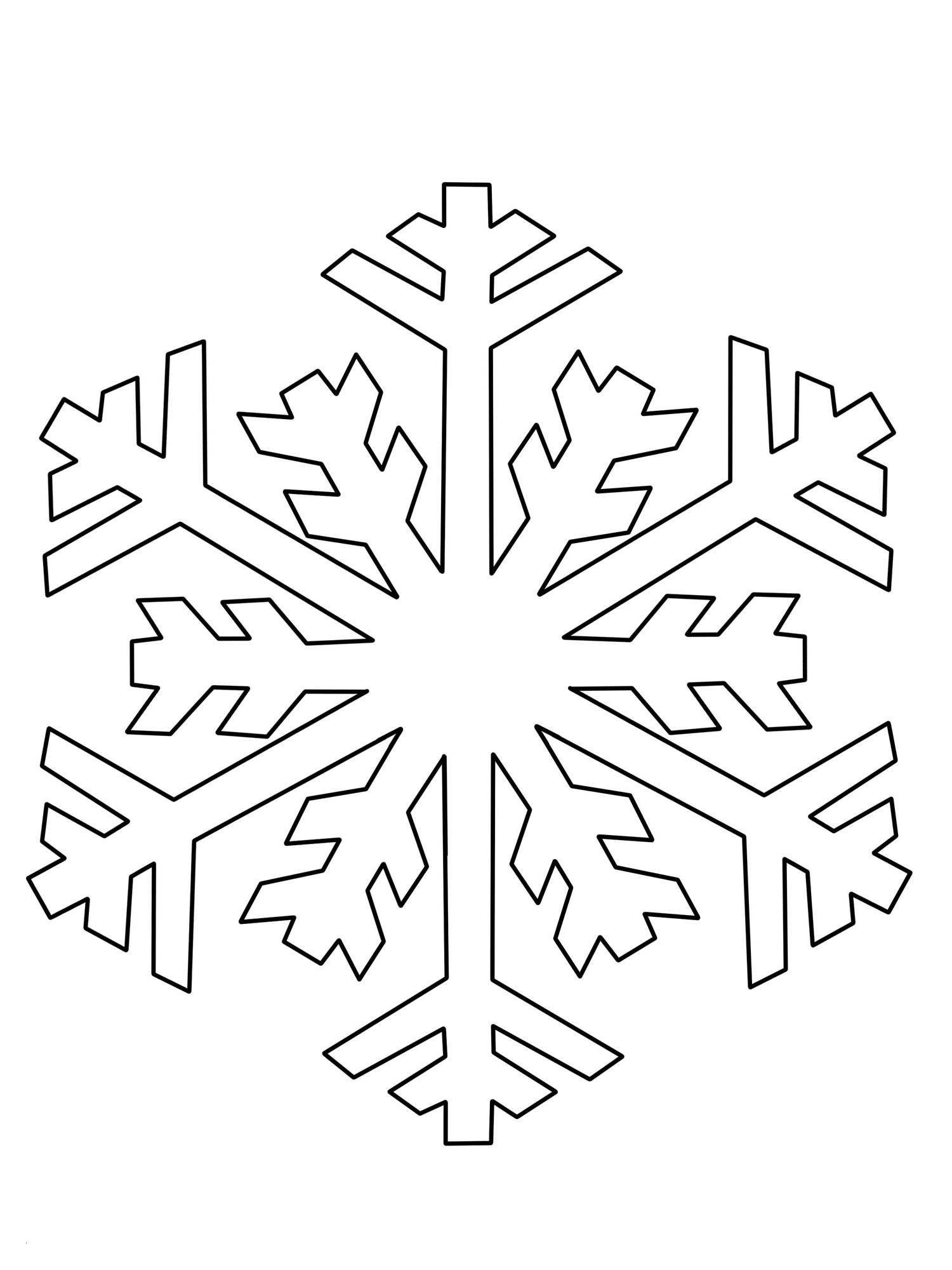 Kostenlose Malvorlage Schneeflocken Und Sterne Schneeflocke Neu