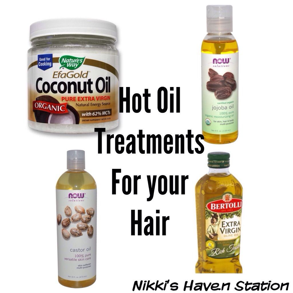 Hot Oil Treatments For Natural Hair Nikki S Haven Oil Treatment For Hair Natural Hair Styles Hot Oil Treatment